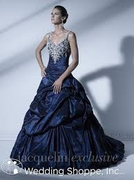 navy blue wedding dress something blue bridal gowns are sure to make you feel just like