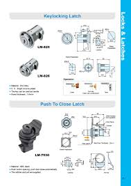 Cabinet Door Locks Latches by Machinery Marine Boat Door Cabinet Slam Action Keylocking Type Cam