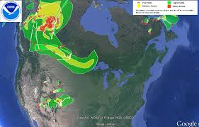 Alaska Fire Map by U S Air Quality Remnant Smoke In Alaska And Across Canada