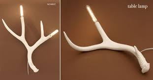 Antler Table Lamp Antler Table Lamp And Sconce By Jason Miller U2014 Accessories