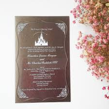 Invitation Card Formal Shaped Cards Picture More Detailed Picture About 5 7inch Clear