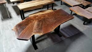Living Edge Dining Table Natural Live Edge Wood Dining Tables Serving The Greater Seattle