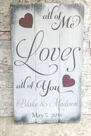 wedding plaques personalized in heart to heart personalized rustic wedding sign decor