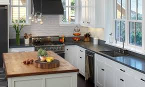 white kitchen cabinets with slate countertops slate countertops buyer s guide countertop specialty