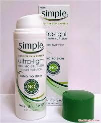simple ultra light gel moisturizer 15 sản phẩm chăm sóc da bình dân được yêu thích nhất