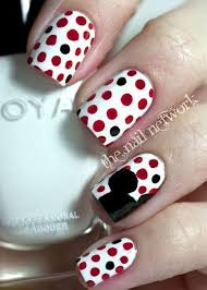 effective ideas for easy nail polish art designs 2014 trendy