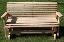 wooden gliders benches ebay