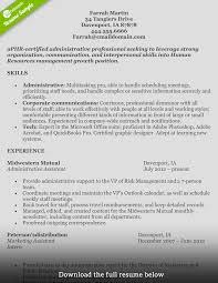 Resume Samples Of Administrative Assistant by How To Write A Perfect Human Resources Resume