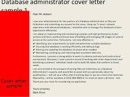 sample database administrator resume example database