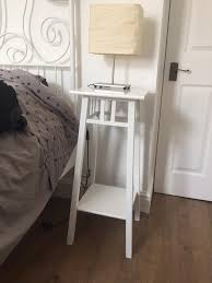 ikea lantliv bedside table plant stand solid wood in