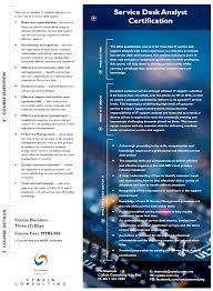 Service Desk Courses New Service Desk Analyst Certification