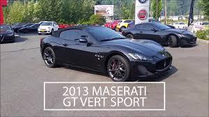 maserati granturismo 2013 2013 maserati granturismo convertible sport maserati of kirkland