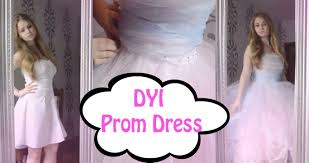 diy prom dress youtube