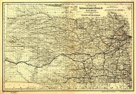 Santa Fe Map Topeka U0026 Santa Fe Rail Road