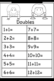 doubles addition facts worksheets addition doubles 1 worksheet free printable worksheets
