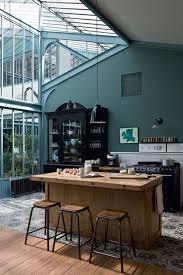 amenagement ilot central cuisine grande cuisine avec ilot central plan cuisine moderne avec ilot