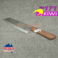 kiwi knife kitchen butcher square chef knives stainless steel