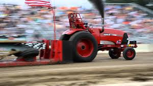 kenwood tractor ntpa tractor pull at the carver county fair youtube