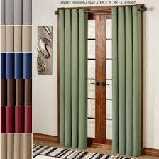 Blackout Door Panel Curtains Curtain Door Panel Curtains For Doors Blackout Door Panel