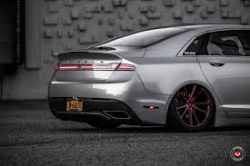 lincoln 2017 white lincoln tuning 2017 mkz lowered on vossen wheels autoevolution