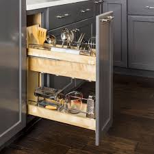 kitchen base cabinets without drawers 8 inch no wiggle utensil bin base cabinet pullout ubpo 8sc