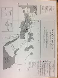 Blank Map Of Ancient Greece Social Studies