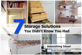 7 storage solutions you didn u0027t know you had