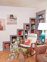 Living Room Bookcases by Living Room Built In Shelves Hgtv
