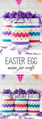 Mason Jar Decorations For Easter by Easter Egg Mason Jars Easter Crafts Easter And Winter