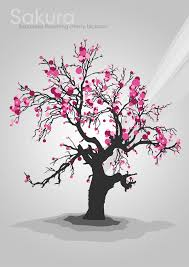 cherry blossom tree hd clipart clip library cherry
