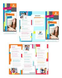 microsoft word brochure template free brochure word template free fold brochure template free word