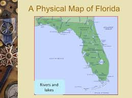 Florida rivers images Fl map intro physical jpg