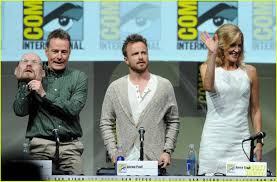 Bryan Cranston House Aaron Paul U0026 Bryan Cranston U0027breaking Bad U0027 At Comic Con Photo