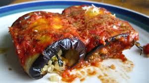 stuffed eggplant rolls fooding and fueling