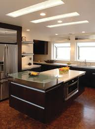 kitchen floating island modern kitchen ceiling lights lightings and lamps ideas