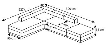 hauteur assise canapé canapé design lumineux et angle réversible collection stelio
