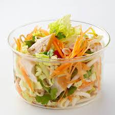 recettes de cuisine fr salade thaï de poulet au chou chinois recette salade