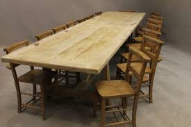 3 Metre Dining Table Reclaimed Pine Table Rustic Recycled Pine Dining Table Distressed