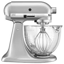 Purple Kitchenaid Mixer by Kitchenaid Ksm105gbcmc 5 Qt Mixer With Glass Bowl Shop Your Way