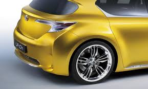 lexus ct200 yellow lexus lf ch hatchback concept unveiled autoevolution