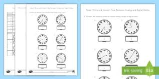 math measurement and data primary resources grade 3 page 2