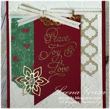 a la cards 12 days of christmas in july day 3