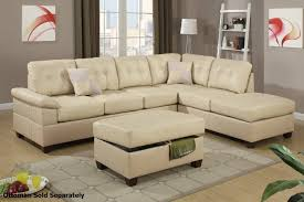 Colored Sectional Sofas by 12 Best Cream Sectional Leather Sofas