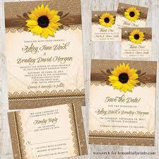 sunflower wedding invitations 1000 ideas about sunflower best sunflower wedding invitations