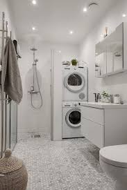 laundry in bathroom ideas topprenoverat badrum med tvättpelare b a t h r o o m