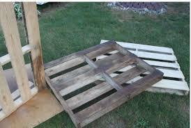 diy outdoor dining table from wood pallets hometalk