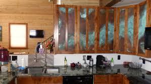 Kitchen Cabinet Door Panels by Copper Kitchen Cabinet Door Inserts Ck Valenti Designs Inc