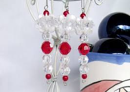 200 best bead icicles images on beaded ornaments