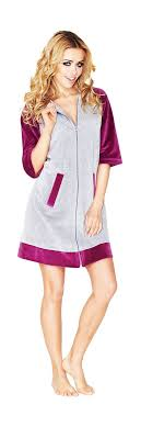 robe de chambre femme coton 37 best peignoir de bain en images on