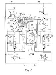 patent ep0089745a2 separate hydraulic systems arranged in